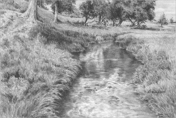 'Honey Creek' by Diane Wright
