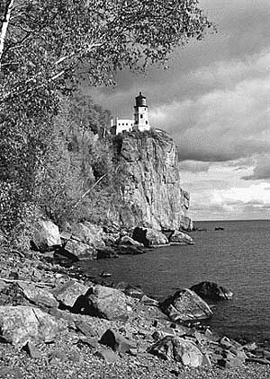 Reference photo of Lighthouse 'Drawing Landscapes' tutorial